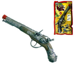 DIE CAST PIRATE PISTOL CAP GUN (Sold by the piece)