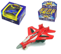 DIECAST METAL FIGHTING AIRFORCE JET PLANES (Sold by the dozen) *- CLOSEOUT NOW 75 CENTS EA