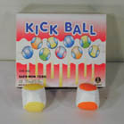 ASSORTED COLOR FOOT KICK SACK BALLS -*CLOSEOUT 25 CENTS EA