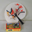 ORIENTAL CHINESE PAPER FANS (Sold by the dozen) - * CLOSEOUT ONLY $1.50 DOZEN