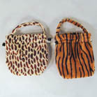 ANIMAL PRINT LEOPARD GIRLS PURSES (Sold by the dozen)  *CLOSEOUT* NOW ONLY .50 CENTS EA