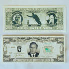 2003 DOLLAR BILLS - FAKE MONEY (Sold by the DOZEN padS of 25 bills) NOW ONLY 50 CENTS PER PAD OF 25