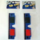 3-D GLASSES (Sold by the dozen) -* CLOSEOUT NOW 10 CENTS EA