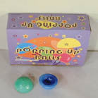 large JUMPING pop up  BALLS (Sold by the dozen) -* CLOSEOUT NOW 25 CENTS EA
