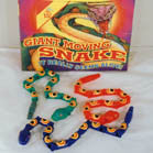 PLASTIC MOVING SNAKES (Sold by the dozen)   *- CLOSEOUT * NOW ONLY .25 CENTS EACH