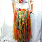 ADULT HAWAIIAN HULA SKIRTS (Sold by the dozen)