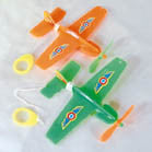 FLYING AIRPLANE ON STRING (Sold by the dozen)