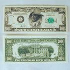 2004 BUSH FAKE DOLLAR BILL (Sold by the pad) NOW ONLY 50 CENTS PER PAD OF 25 BILLS