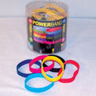 ASSORTED RUBBER BRACELETS WITH SAYINGS (Sold by the dozen) CLOSEOUT NOW ONLY 10 CENTS EA