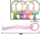 DELUXE KIDS HALO'S WITH STREAMERS (Sold by the dozen)*- CLOSEOUT NOW $1 EA