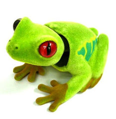 BOBBLE  HEAD MOVING GREEN FROGS  (Sold by the dozen)
