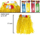 KIDS / CHILDRENS SIZE HULA SKIRTS (Sold by the PIECE or dozen) *- CLOSEOUT NOW ONLY $1 EA