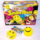 SMILE FACE SQUEEZE STRETCH BOUNCE BALL (Sold by the dozen)