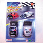 STICKY WINDOW POLICE RACERS (Sold by the dozen)  -* CLOSEOUT NOW 50 CENTS