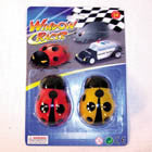 STICKY WINDOW LADY BUG RACERS (Sold by the dozen) - * CLOSEOUT ONLY 50 CENTS