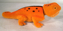 BOBBING HEAD ORANGE LIZARD ( sold by the dozen )