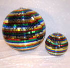 8 INCH RAINBOW MIRROR BALL (Sold by the piece) *- CLOSEOUT NOW $10 EA