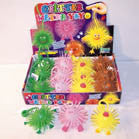 CRITTER ANIMAL YO YO BALLS (Sold by the dozen) -* CLOSEOUT NOW ONLY 50 CENTS EA
