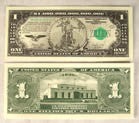 ZILLION LIBERTY DOLLAR BILLS (Sold by the pad)