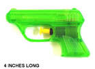 45 MAG 4 INCH WATER PISTOL GUN  (Sold by the dozen)