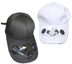SOLAR POWERED FAN BASEBALL HAT (Sold by the piece) *- CLOSEOUT NOW $5 EA