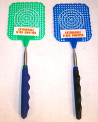 EXPANDABLE FLY SWATTERS (Sold by the Piece or dozen) *- CLOSEOUT NOW $ 1.50 EA