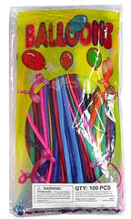 ANIMAL MAKING TWIST BALLOONS (Sold by the bag of 100 pieces)