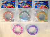 ASSORTED COLOR LOOM BRACELETS  (Sold by the dozen ) -* CLOSEOUT NOW ONLY 25 CENTS EA
