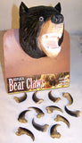 BLACK BEAR REPLICA CLAWS  (Sold by the dozen)