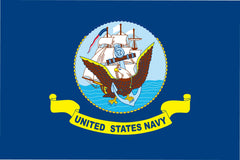 NYLON HEAVY DUTY UNITED STATES US NAVY SHIP military 3' X 5' FLAG (Sold by the piece)