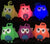 LIGHT UP PUFFER OWL YO YO (Sold by the dozen)