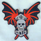SKULL & WINGS PATCH (Sold by the piece)