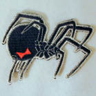 BLACK WIDOW PATCH (Sold by the piece)