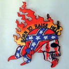 BORN TO RAISE HELL PATCH (Sold by the piece)