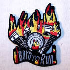BORN TO RUN PATCH (Sold by the piece)