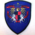 BONDED BY STEEL BADGE 4 INCH PATCH (Sold by the piece or dozen ) CLOSEOUT NOW AS LOW AS .50 CENTS EA