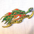 SEARCH AND DESTROY DRAGON 4 INC PATCH (Sold by the piece or dozen ) -* CLOSEOUT AS LOW AS 50 CENTS EA
