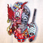 CLOWN SKULL PATCH (Sold by the piece)