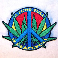 LUNG FULL 3 INCH PATCH (Sold by the piece or dozen ) -* CLOSEOUT AS LOW AS 75 CENTS EA