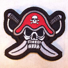 PIRATE SWORDS PATCH (Sold by the piece)