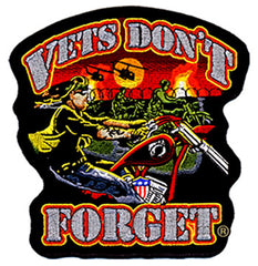 VETS DONT FORGET 4 INCH PATCH (Sold by the piece)