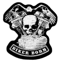 BIKER BORN PATCH (Sold by the piece)