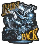 RUN WITH THE PACK PATCH (Sold by the piece)