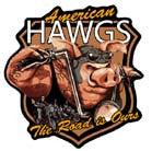 AMERICAN HAWGS PATCH (Sold by the piece)