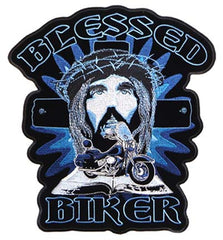 BLESSED BIKER PATCH (Sold by the piece)