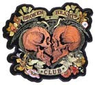 BROKEN HEARTS CLUB PATCH (Sold by the piece)