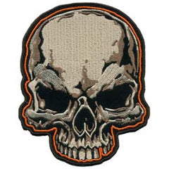 LARGE SKULL HEAD PATCH (Sold by the piece)