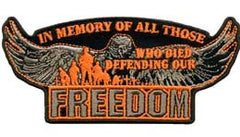FREEDOM EAGLE PATCH (Sold by the piece)