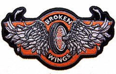 BROKEN WINGS WHEEL PATCH (Sold by the piece)