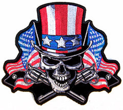 ANGRIER UNCLE SAM 5 INCH PATCH (Sold by the piece)